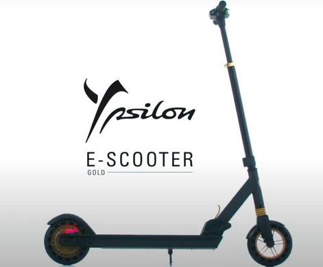 VIDEO: Lancia Ypsilon E-scooter