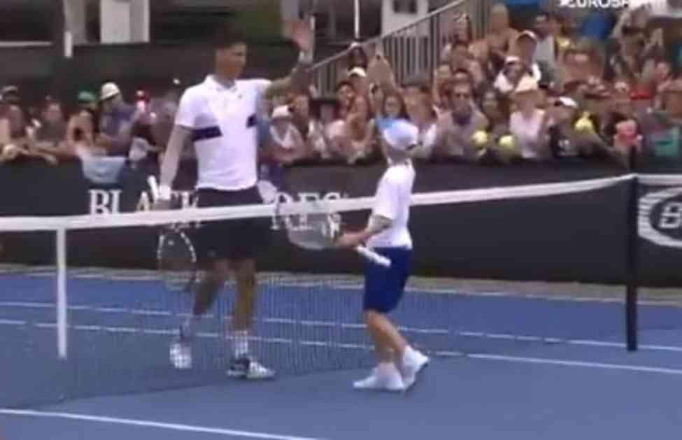 (VIDEO) MALIŠANU POREKLOM IZ BANJALUKE ISPUNJEN SAN: Mali Novak (8) pobedio slavnog imenjaka Đokovića!