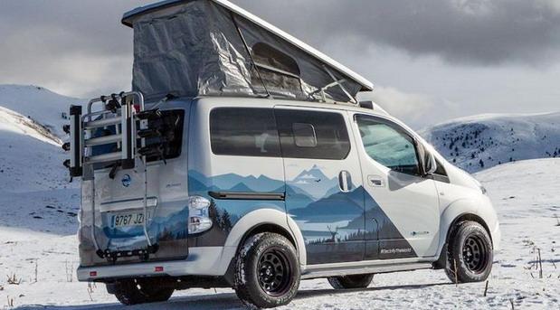 VIDEO: Nissan e-NV200 Winter Camper