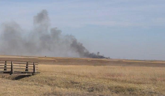 VIDEO:  Novi požar u prirodnom rezervatu kod Zrenjanina