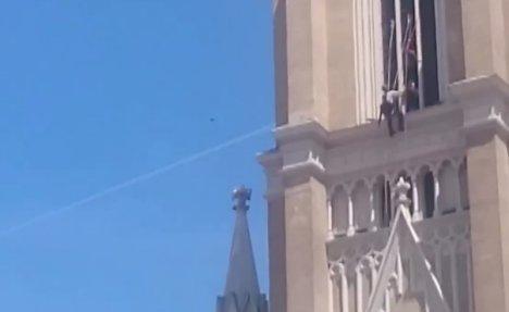 (VIDEO) OVO NEMA NIGDE NA SVETU: Srbin iz NS igra užičko kolo na 50 metara iznad zemlje!