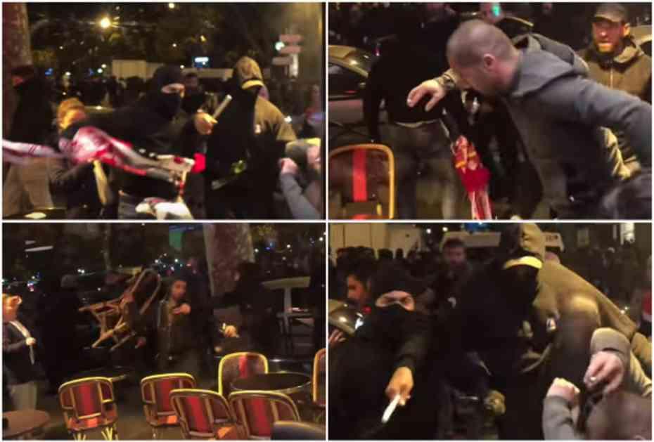(VIDEO) PSŽ IDENTIFIKOVAO NAPADAČE NA ZVEZDINE NAVIJAČE: Evo kakva kazna čeka 30 huligana koji su napali Delije! (VIDEO)