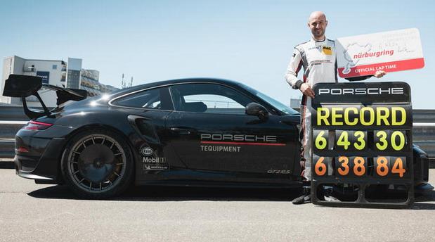 VIDEO: Porsche 911 GT2 RS postavio novi rekord na Nirbugringu