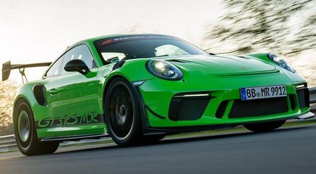VIDEO: Porsche 911 GT3 RS MR na Nürburgringu