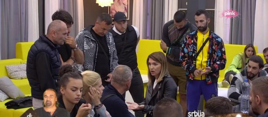 (VIDEO) Posle jučerašnjeg haosa, još luđa scena: Pogledajte šta se dogodilo u dvorištu između Ivana, Natalije i Sanija!