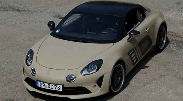 VIDEO: RaceChip Alpine A110