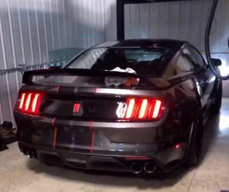 VIDEO: Seo u tatin Mustang i odmah ga razbio