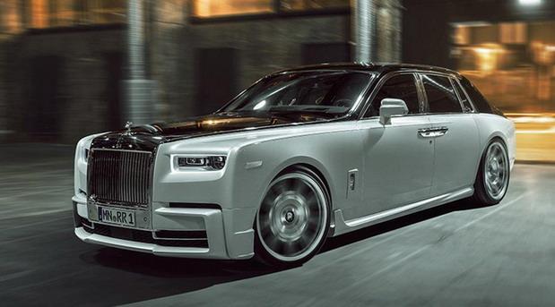 VIDEO: Spofec Rolls-Royce Phantom