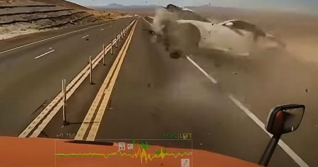 VIDEO: Težu nesreću dugo nismo videli, vozač preživeo i javio se
