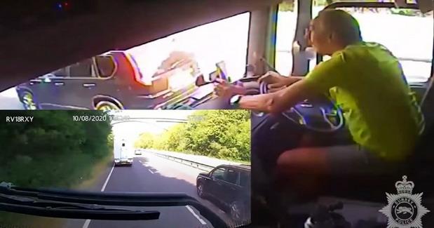 VIDEO: Za četiri sata vožnje napravio 42 prekršaja i izazvao saobraćajnu nesreću