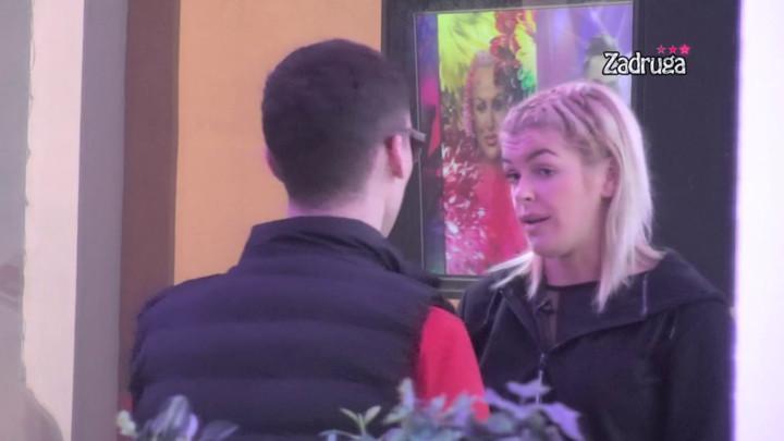 VIDI SE DA TI SE SVIĐA! Milan Petković otvorio oči Nini, pa joj rekao nešto što ju je ZABOLELO! (VIDEO)