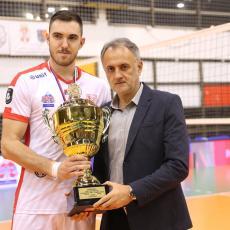 VIŠE NEMA DILEME: Stevan Simić ostaje kapiten Vojvodine