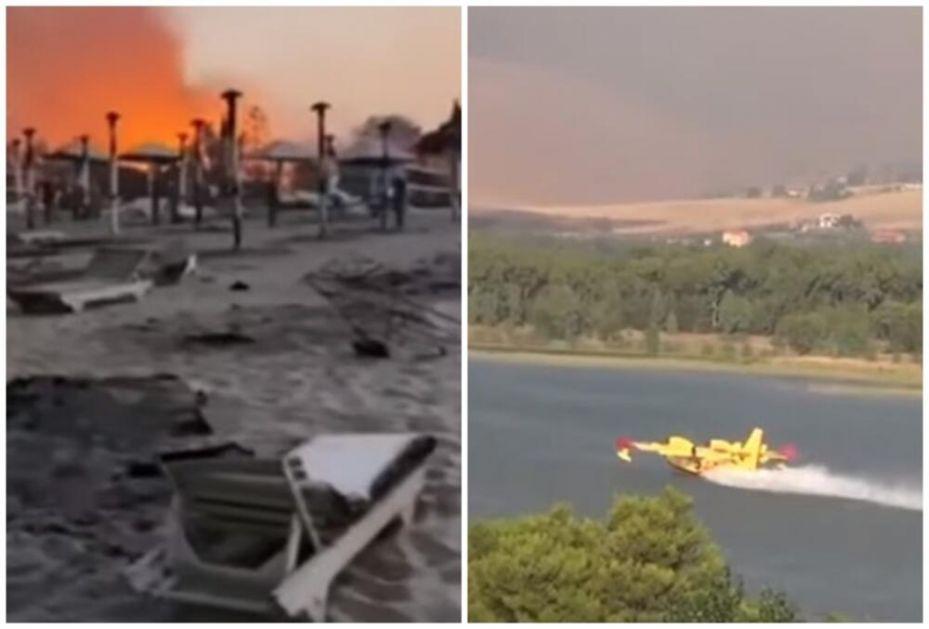 VIŠE OD 15 POŽARA BUKTI NA SICILIJI: Sa plaže evakuisano oko 150 turista! Palermo prekriven pepelom! (VIDEO)