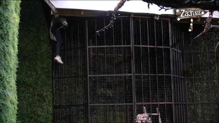 VISILA SA KAVEZA U RAJSKOM VRTU! Nadežda ponovo histerisala i pokušala da napusti ZADRUGU, a zbog onog što je uradila ostaćete u čudu!(VIDEO)