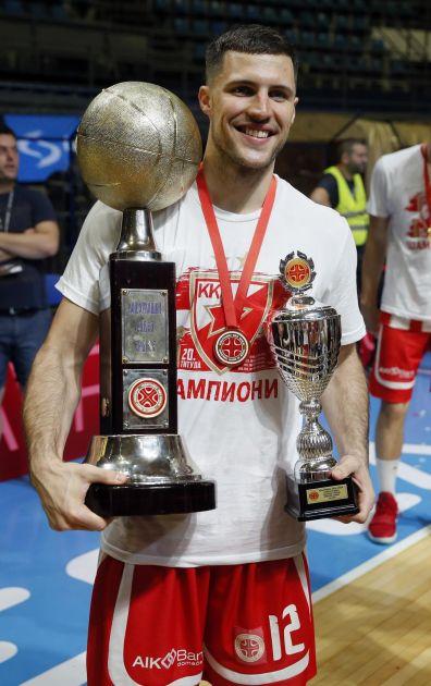 VLASTA DARIVAO BILIJA: Beron MVP finalne serije protiv Partizana