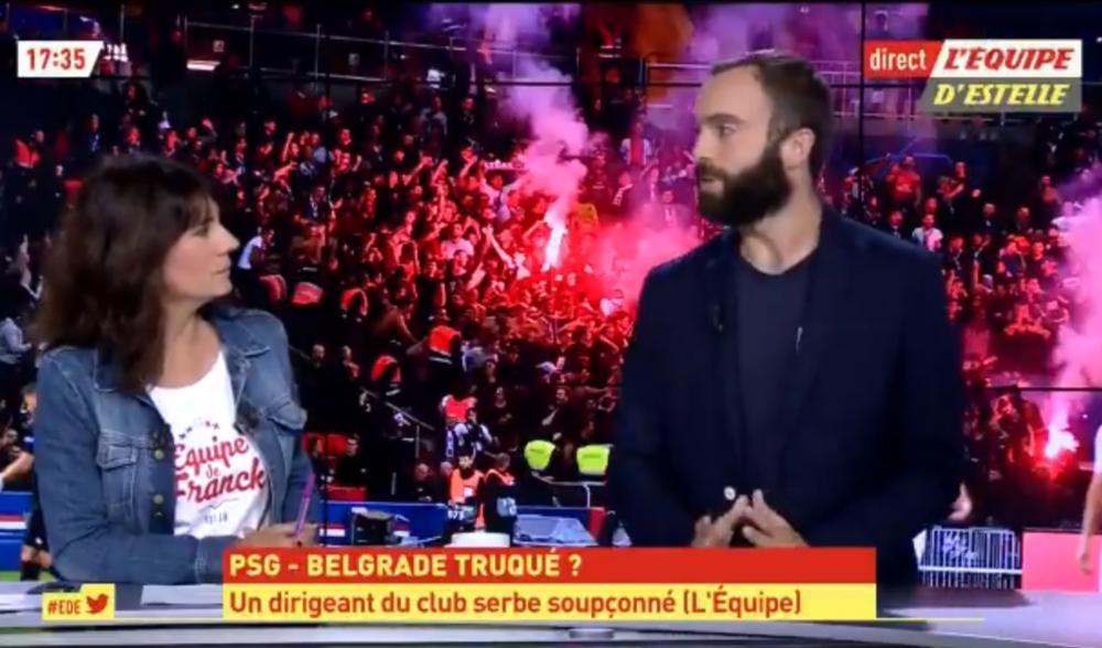 VOJI UDAR NA ZVEZDU: Evo ko je novinar koji optužuje crveno-bele za nameštanje utakmice sa PSŽ! (VIDEO)
