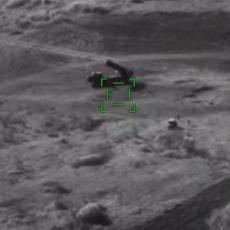 VOJNICI UTEKLI U ZADNJI ČAS: Jermenski Smerč danima sejao smrt u Bardi, a onda ga je azerski dron locirao (VIDEO)