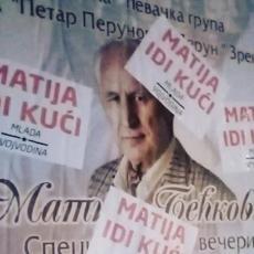 VOJVOĐANSKI SEPARATISTI PONOVO PROVOCIRAJU! Osvanuli SKANDALOZNI PLAKATI, smeta im i Matija Bećković (FOTO)