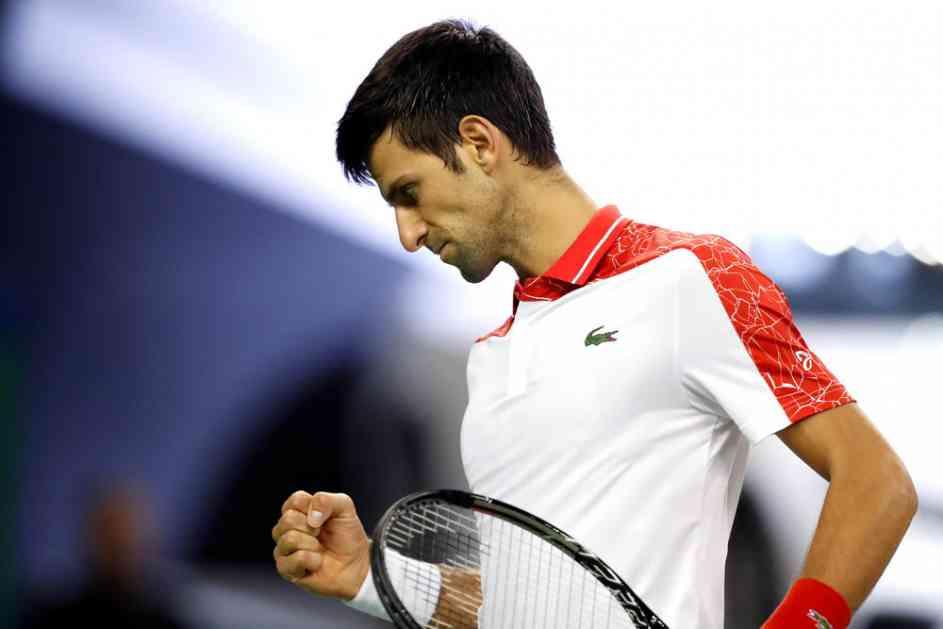 NOVAK SERVIRAO OSVETU ITALIJANU! Đoković počistio Čekinata i plasirao se u četvrtfinale Mastersa u Šangaju!
