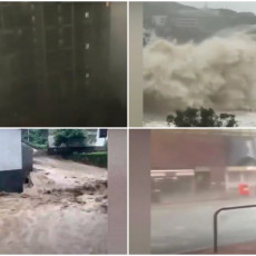 VREMENSKA KATAKLIZMA U KINI! Stotine hiljada ljudi evakuisano, niko ne sme van - prizori ZASTRAŠUJUĆI!
