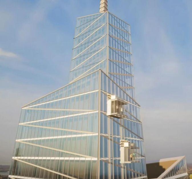 VRTOGLAVA VOŽNJA STAKLENIM LIFTOM Nova atrakcija u Njujorku pruža pogled na grad sa visine od 369 metara FOTO, VIDEO