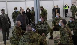 VSS: Komandanti nekih jedinica pritiskaju vojsku da se vakciniše protiv korone