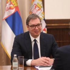 VUČIĆ I GRUŠKO NA SASTANKU: Predsednik Srbije o važnim temama sa zamenikom Sergeja Lavrova (FOTO)