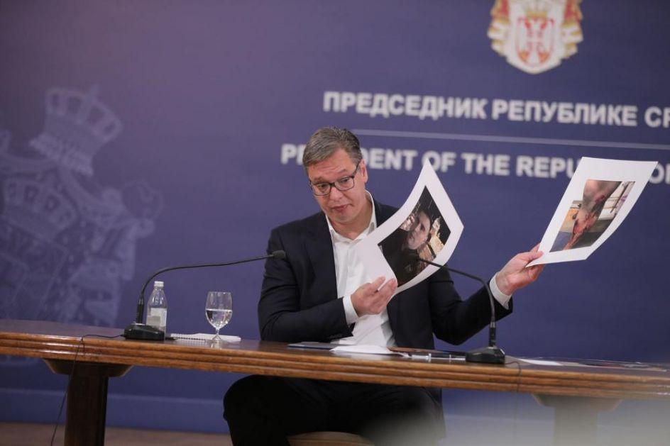 VUČIĆ O SPOLJNIM FAKTORIMA NA NASILNIM PROTESTIMA: Nikome nećemo dozvoliti da ugrozi mir i stabilnost Srbije!