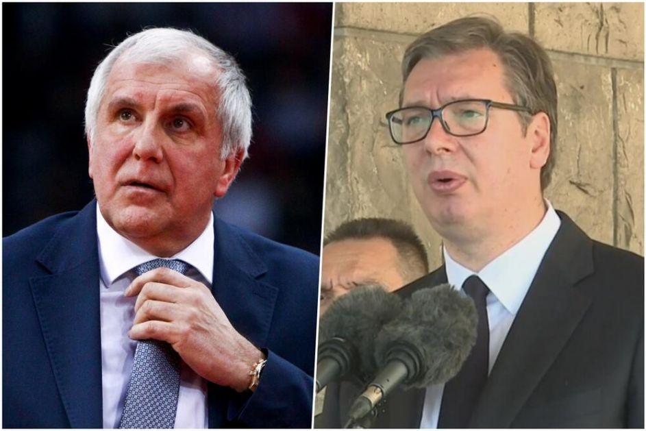 VUČIĆ O ŽELJKU OBRADOVIĆU: Fantastična vest za Srbiju! Čestitam mu i želim da vrati Partizan na evropski tron