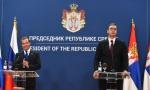 VUČIĆ POSLE SASTANKA SA MEDVEDEVIM:  Srbi i Rusi snaga protiv falsifikovanja istorije; Susret sa Putinom u Sočiju