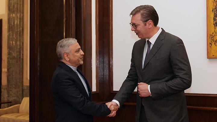 VUČIĆ RAZGOVARAO SA AMBASADOROM IRANAo bilateralnim odnosima dveju zemalja i aktuelnoj situaciji u regionu i svetu! (FOTO)