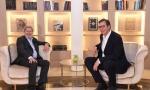 VUČIĆ SA HANOM: Pomoć EU za deblokadu dijaloga sa Prištinom