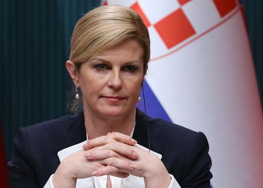 VUČIĆ ZAMOLIO KOLINDU DA NE KORISTI IZRAZ VELIKOSRPSKA AGRESIJA, A ONA NASTAVILA U SRAMOTNOM STILU: Osuđujem velikosrpski totalitarizam i njegovu agresiju na Hrvatsku!