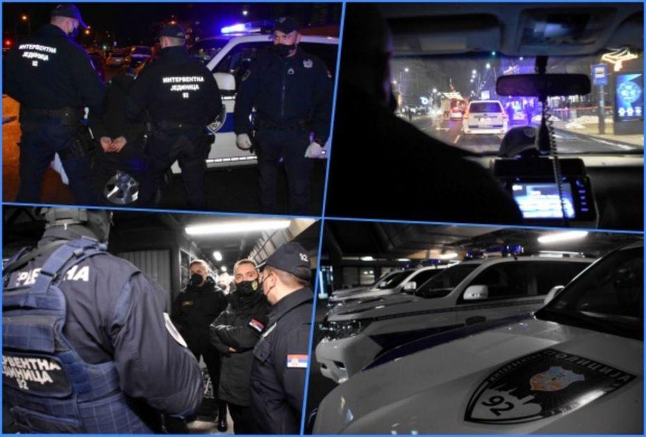 VULIN U NOĆNOJ AKCIJI SA INTERVENTNOM 92: Pogledajte, hapšenja i pretres na ulicama Beograda! Pokazali i šta nose na posao (VIDEO)
