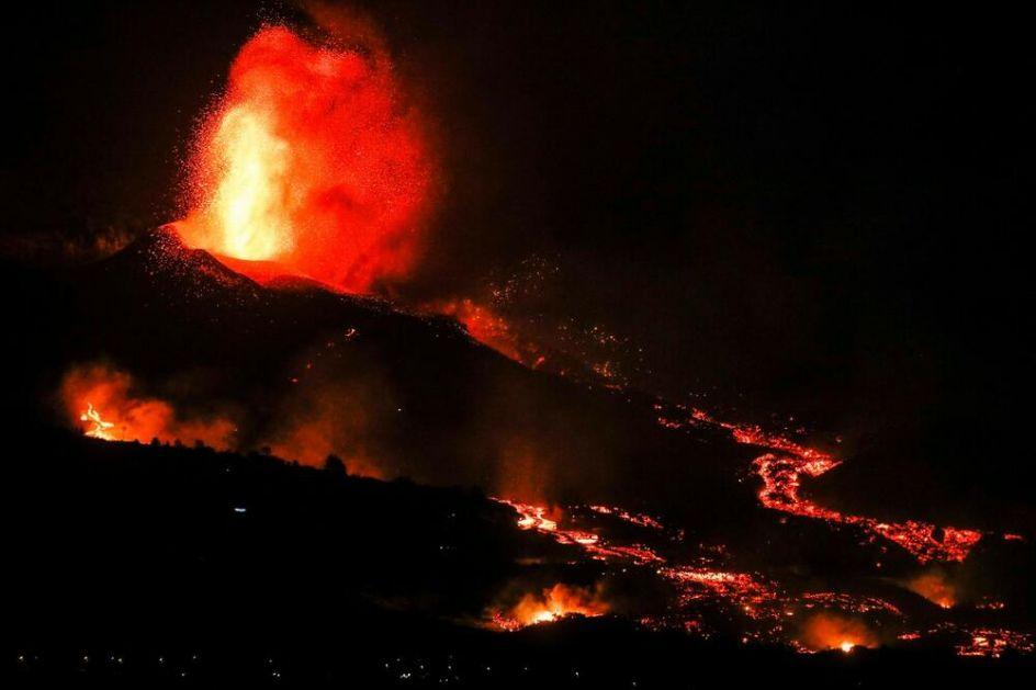 VULKAN KOJI JE MIROVAO POLA VEKA: Broj evakuisanih sa popularnog ostrva povećao se na 6.000! Lava kulja nakon još jednog potresa