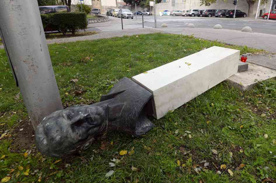 Vandal iz Splita otvoreno: Mrzim Srbe, partizane i komuniste