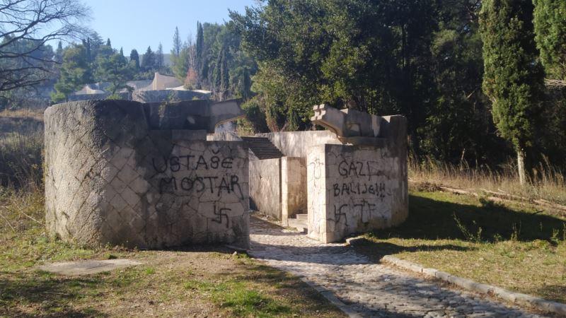 Vandalizam nad antifašističkim naslijeđem Mostara