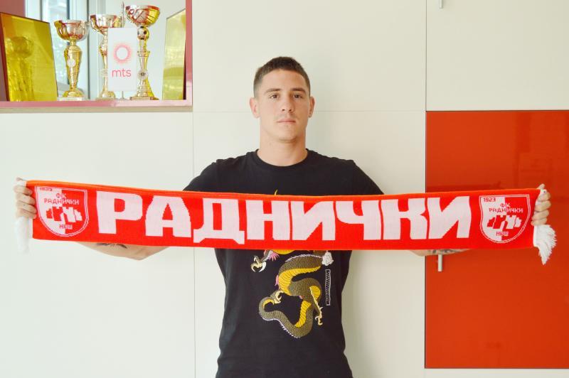 Vanja Ilić novi igrač Radničkog