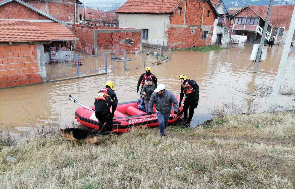 Vanredna situacija i dalje na snazi u većini opština na jugu Srbije