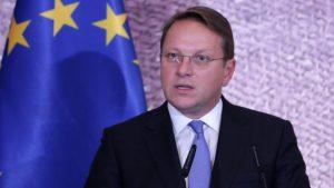 Varhelji: Srbija mora uskladiti sisteme kako bi se mogla priključiti Eurodaku