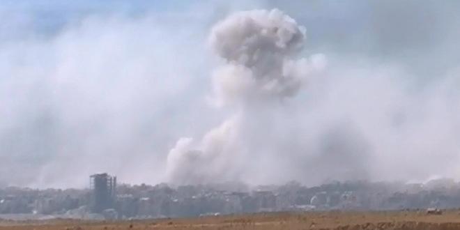 Vazdušni napad Izraela na Damask,četiri vojnika povređena