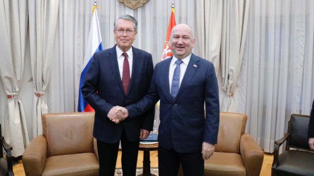 Važno razvijati ekonomsku saradnju Srbije i Rusije