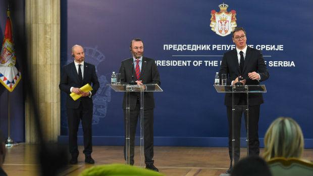 Veber: Srbija veliki prijatelj, učinićemo sve za njenu EU perspektivu