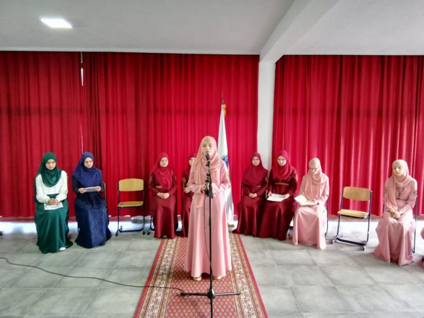 Večer Kur'ana, ilahija i ders muftije sandžačkog Kujevića u BKC Sandžak u Petnjici