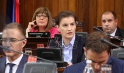 Veći deo sednice na kojoj su članovi vlade odgovarali na pitanja poslanika o SBB-u, N1 i Djilasu