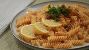 Vege recept: One-pot lemon pasta