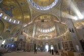 Velelepni mozaik u Hramu obiluje zlatnom bojom i raskošnim detaljima FOTO