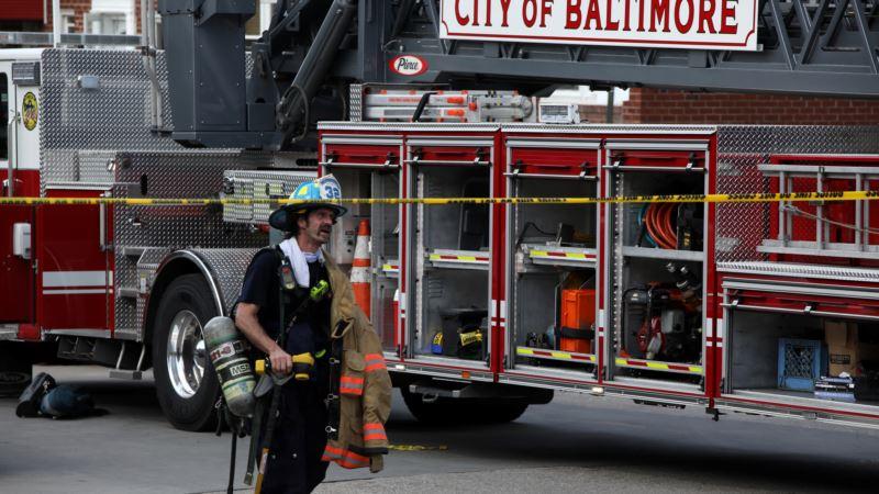 Velika eksplozija gasa u Baltimoru