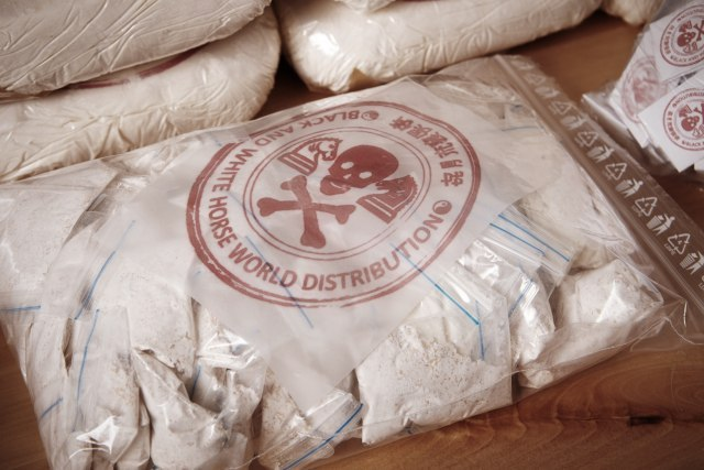 Velika policijska akcija kod Skoplja: Presečen kanal šverca 1,3 tone kokaina
