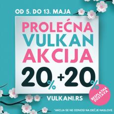Velika prolećna Vulkan akcija: Samo na sajtu www.vulkani.rs